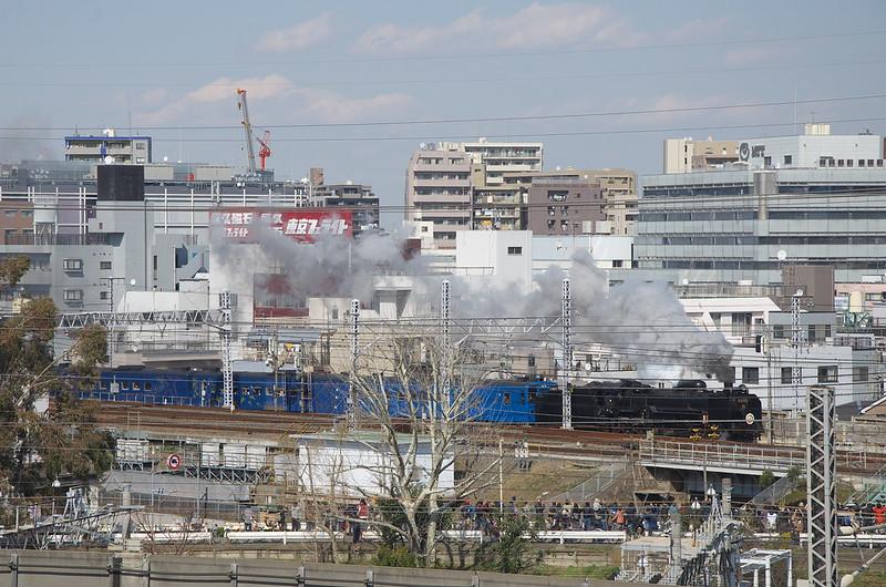 Tokyo Train Story みちのくSLギャラクシー 2014年3月8日