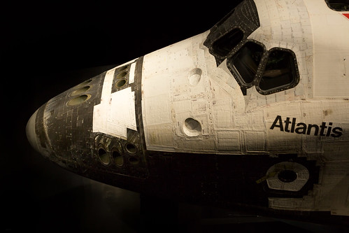 Space Shuttle Atlantis - Plate 1, Kennedy Space Center, FL, February, 2014