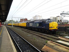 Stockport DG working 1Q13 09:17 Crewe C.S. (L&Nwr Site) - Northwich South Jn. Stock :- 99666, 72630, 977997, 9523....