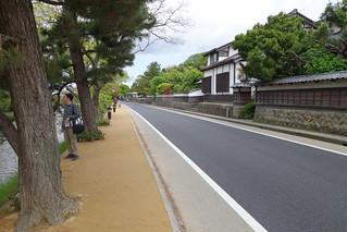松江城・外堀(3)