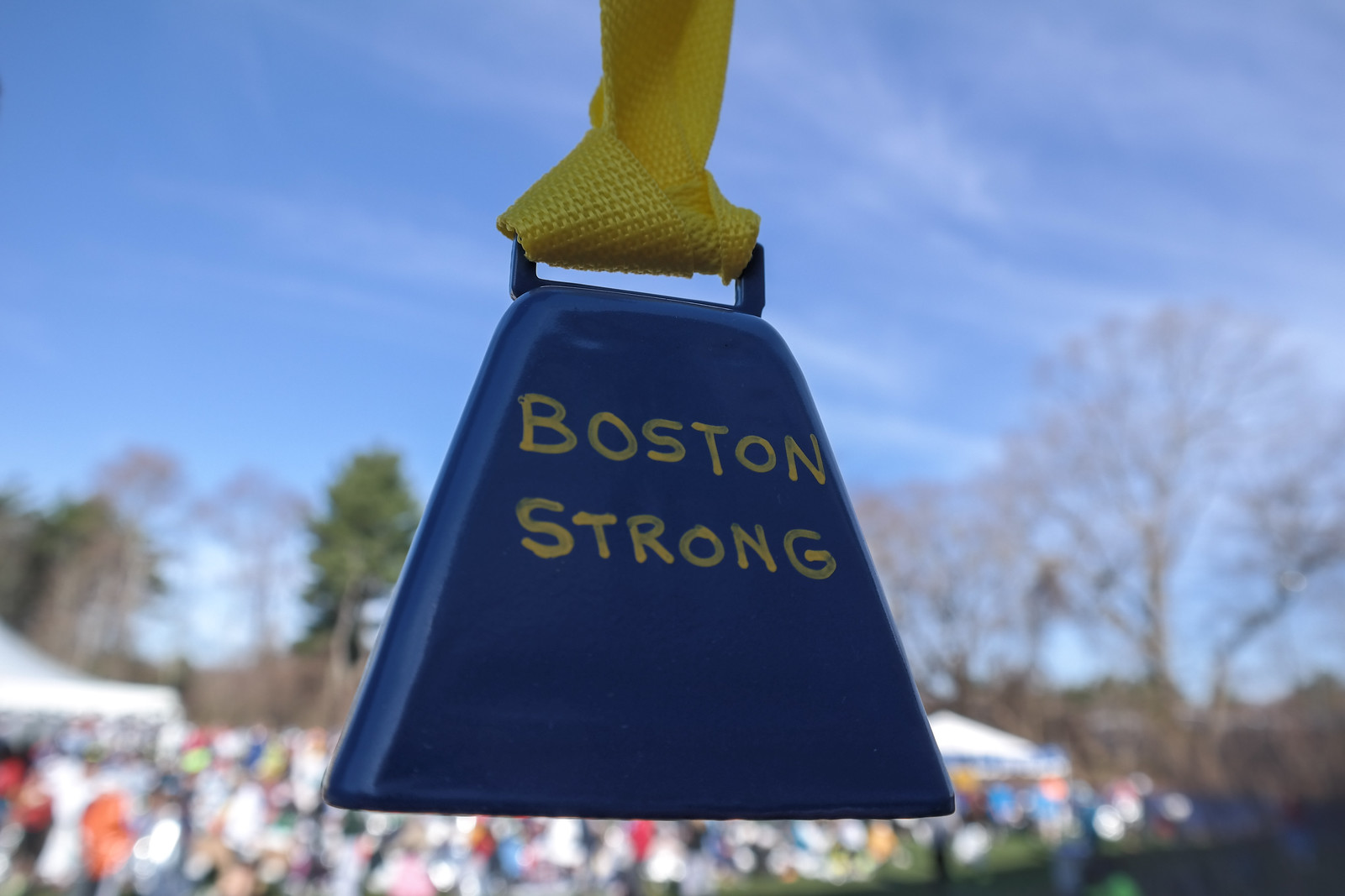 My New Boston Strong Cowbell