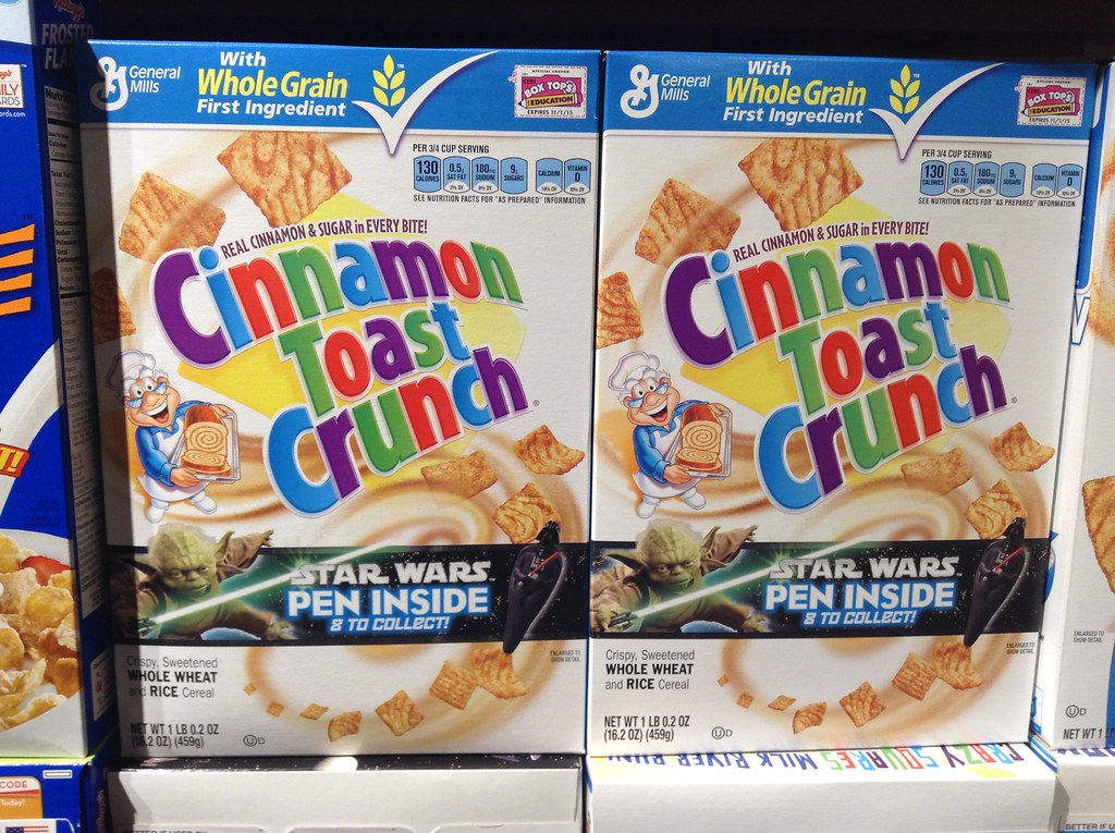 cinnamon toast crunch cereal Cereals ready-to-eat, GENERAL MILLS