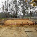 Detached Garage Foundation Formed In Vacaville