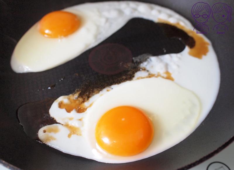 14 麻油煎蛋
