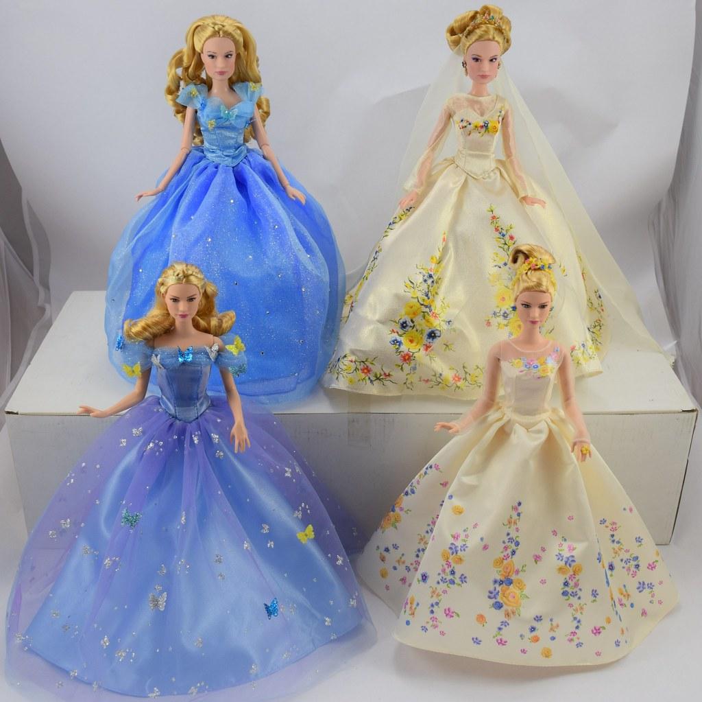 Disney Princess Cinderella Singing Doll And Costume Set: Live Action Movie