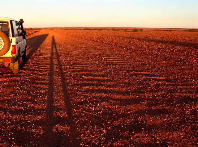Outback selfie (Oodnadatta Track, South Australia)