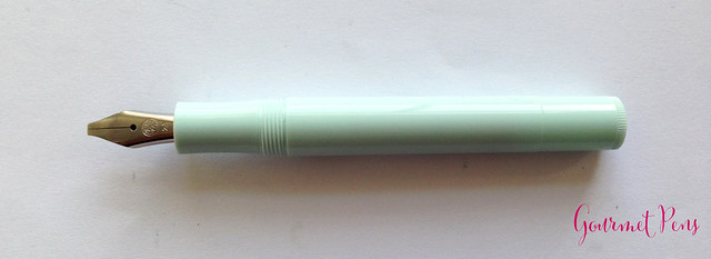 Review Kaweco Sport Skyline Mint Fountain Pen - Broad @CouronneDuComte @Kaweco (11)