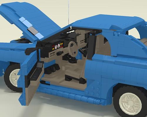 1994 Mustang GT interior left