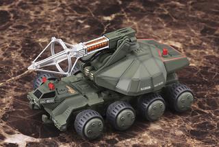 92式メーサービーム戰車 1/144 比例組裝模型