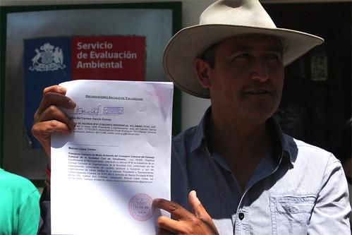 Marcha Intercomunal y entrega de observaciones de Terminal GNL Penco-Lirquén