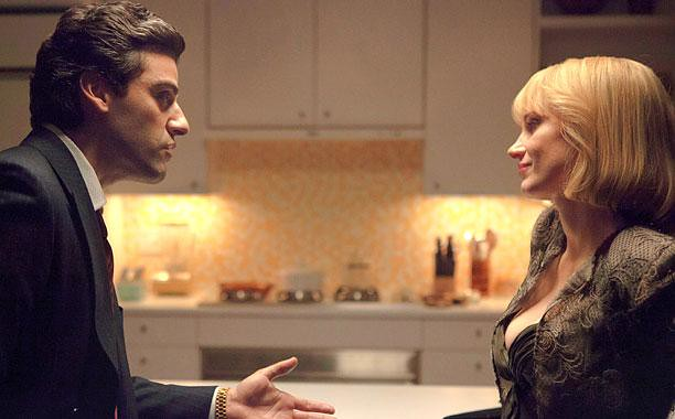 Oscar Isaac and Jessica Chastain lock horns regarding company incidents in A MOST VIOLENT YEAR.