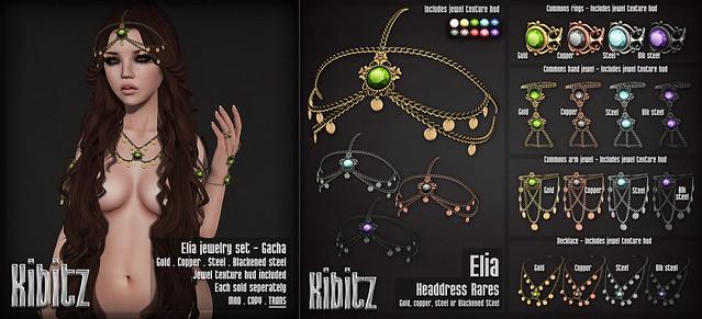 Elia jewelry set