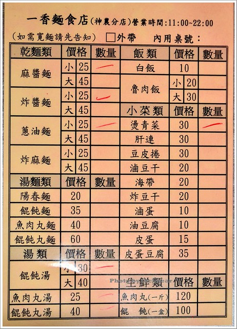 一香麵食店神農分店001-DSC_5251