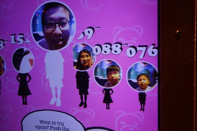 Choo Family height chart.