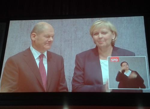 Wahlkampffinale der SPD mit Olaf Scholz 2015