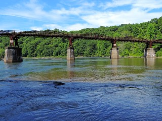 Youghiogheny River Trail Bridge 2014
