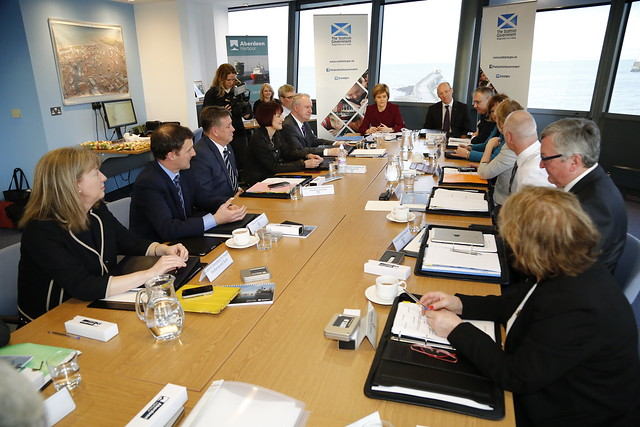The Scottish Cabinet in Aberdeen
