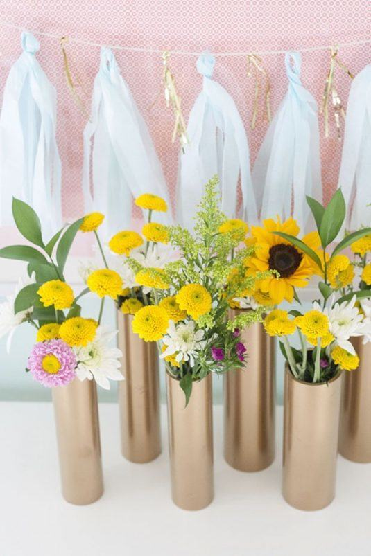 DIY PVC Vase