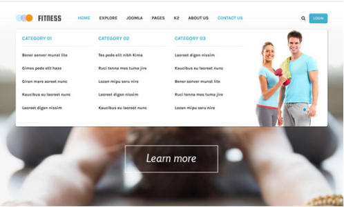 SJ Fitness v1.0.0 - A Responsive Joomla 3.5.x Yoga Center Template