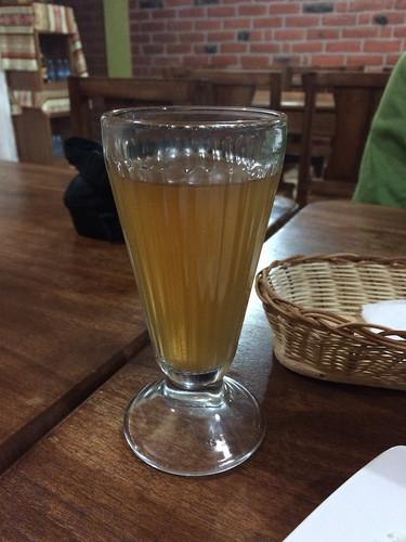 Quilotoa: thé à la cannelle