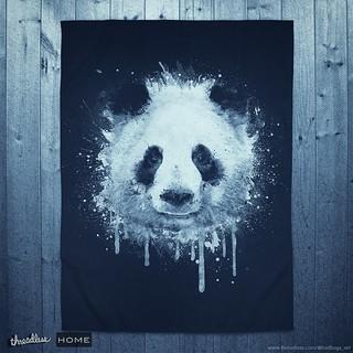 Watercolor Panda Portrait! @threadless