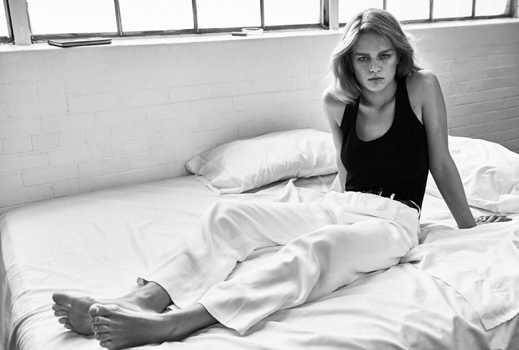 Анна Эверс — Фотосессия для «Vogue» UK 2016 – 10