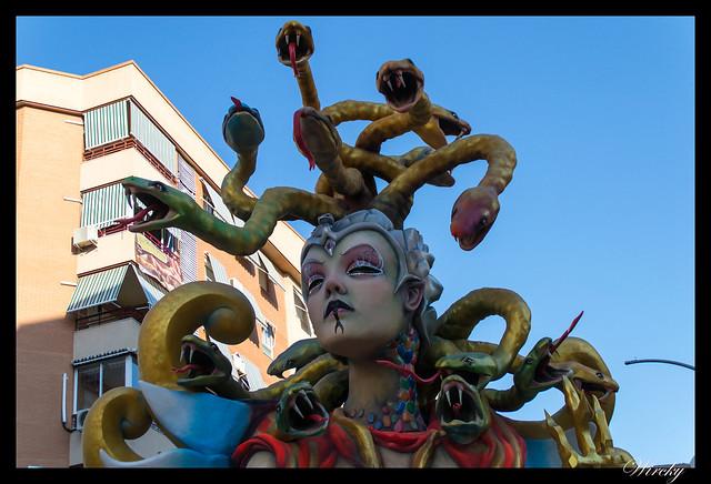Medusa en hoguera La Cerámica