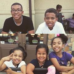 Uh, oh mama...there goes those Manning cuzzos! #Family #BdayCelebrations #GrowingUpTooFast #Yellabone
