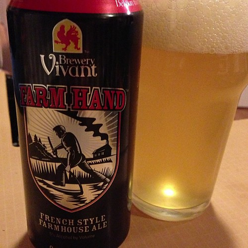 Brewery Vivant Farm Hand French Style Farmhouse Ale