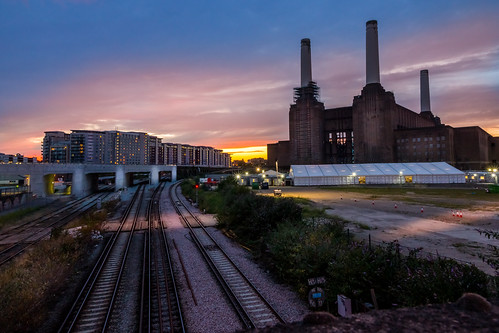 Battersea Power Station at Sunset - Explore