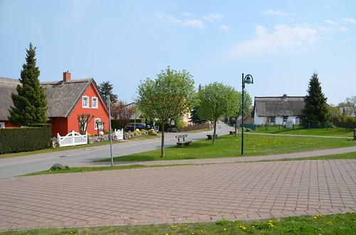 Zempin, historischer Ortskern