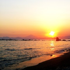 Sunset in Hayama