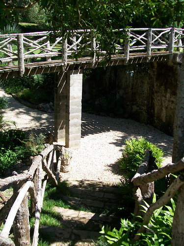 Bermuda Arboretum. Included in this walk is a picturesque Bermuda cedar bridge which crosses over a small pool.