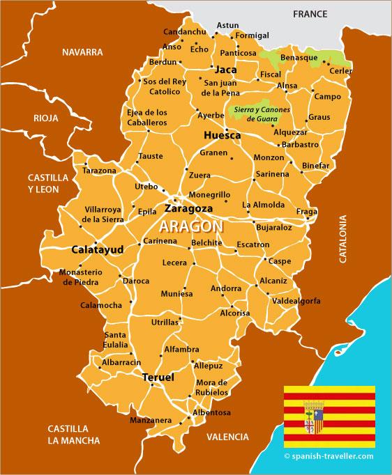 Mapa de Aragao