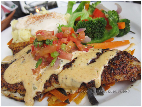 Blackened Fish Fillet