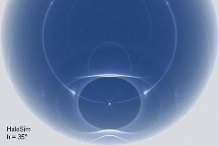 Velké amalé halo - Optická šálení VI.