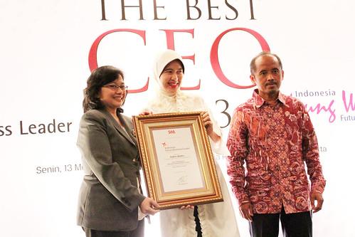 The Indonesia Future Business Leader 2013: Indira Abidin.