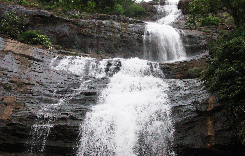 Rain waterfall Crop