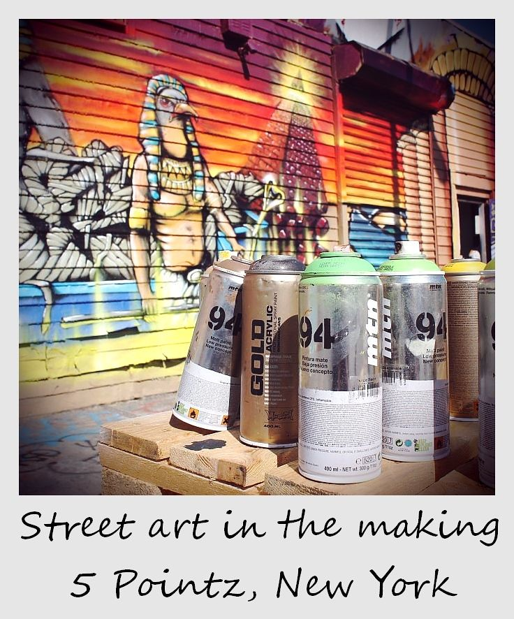 polaroid of the week new york city 5 pointz street art