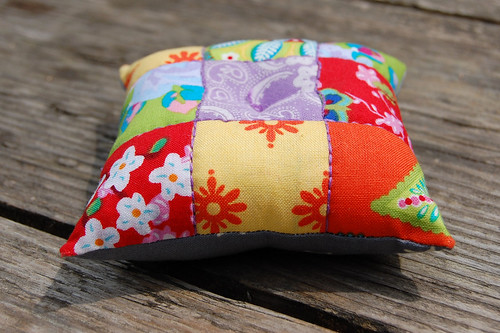 patchwork pincushion #3