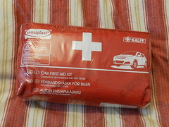LIDL car first aid kit