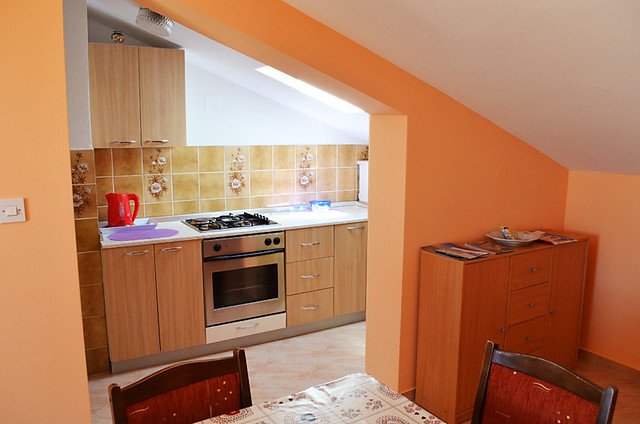 Kitchen, Amico Apartments, Zadar