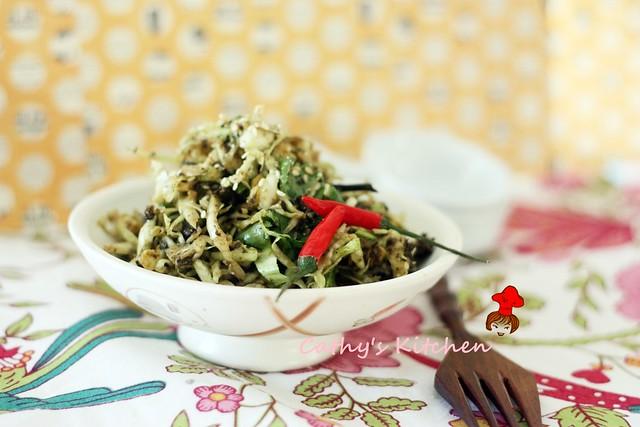 發現新世界~ 緬甸綠茶沙拉 Burmese Green Tea Leaf Salad 5