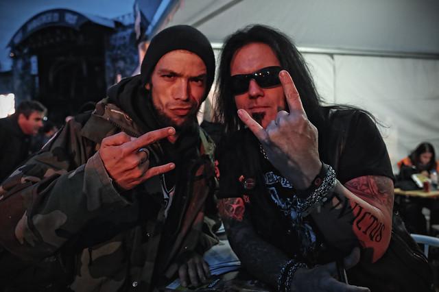Stephane Rip & David Vincent (Morbid Angel)