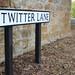 Tweeting down Twitter Lane, Waddington, Lancashire by dullhunk