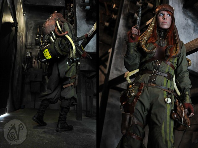 Steampunk adventurer 4