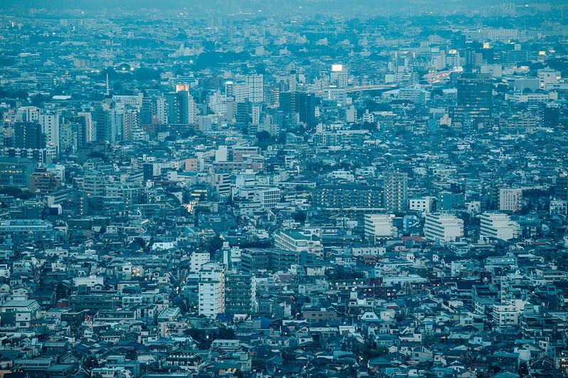 Blue Tokyo.