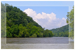 French Broad River Framed