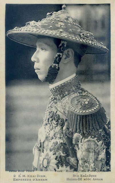 S.M. KHAI DINH - Empereur d'Annam.  Vua Khải Định