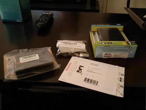 My Raspberry Pi Mail Server - Pre-assembly